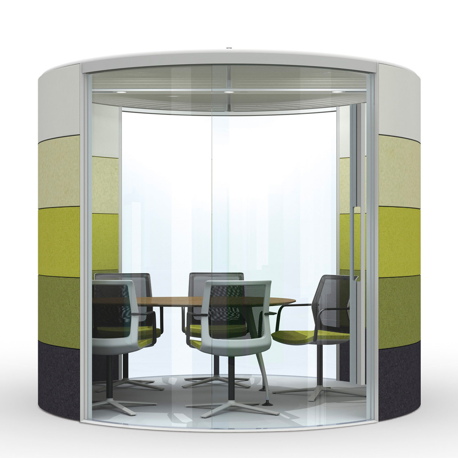 Air3 Acoustic Round Meeting Pod