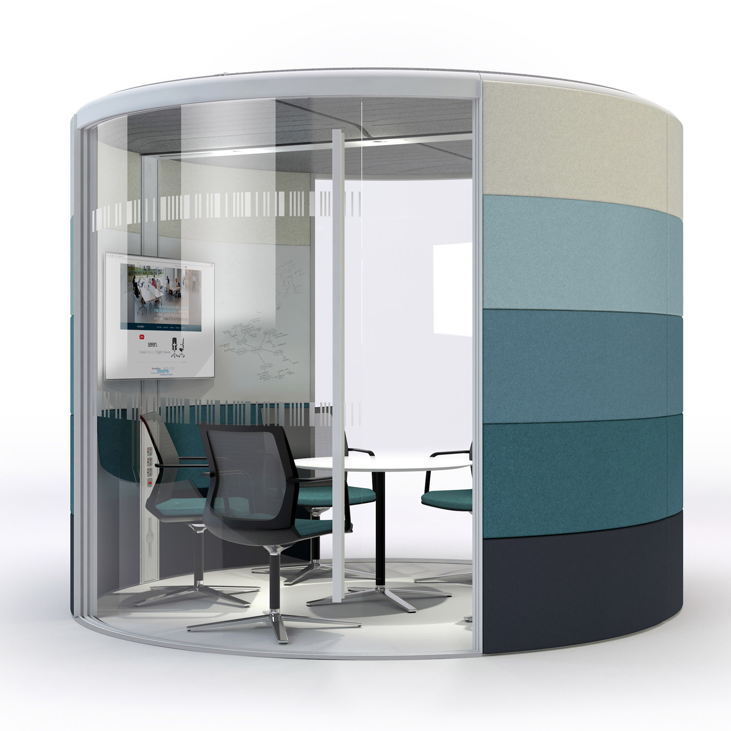 Orangebox Air Acoustic Meeting Pod