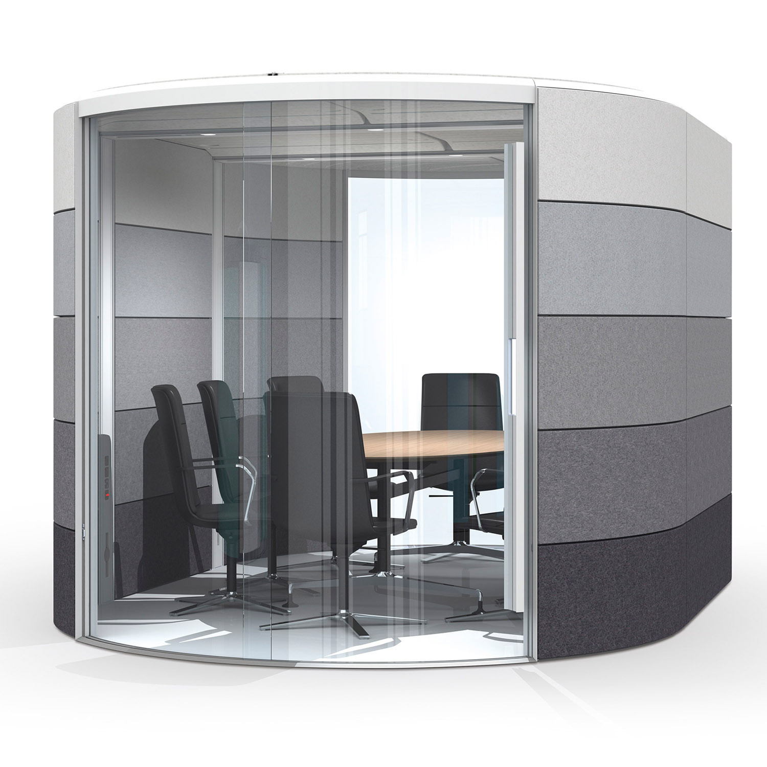 Air Acoustic Lozenge Meeting Pod