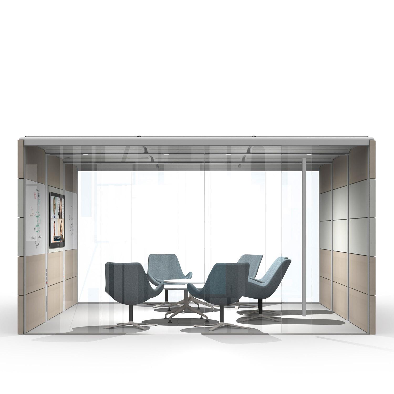 Air Acoustic Meeting Pod