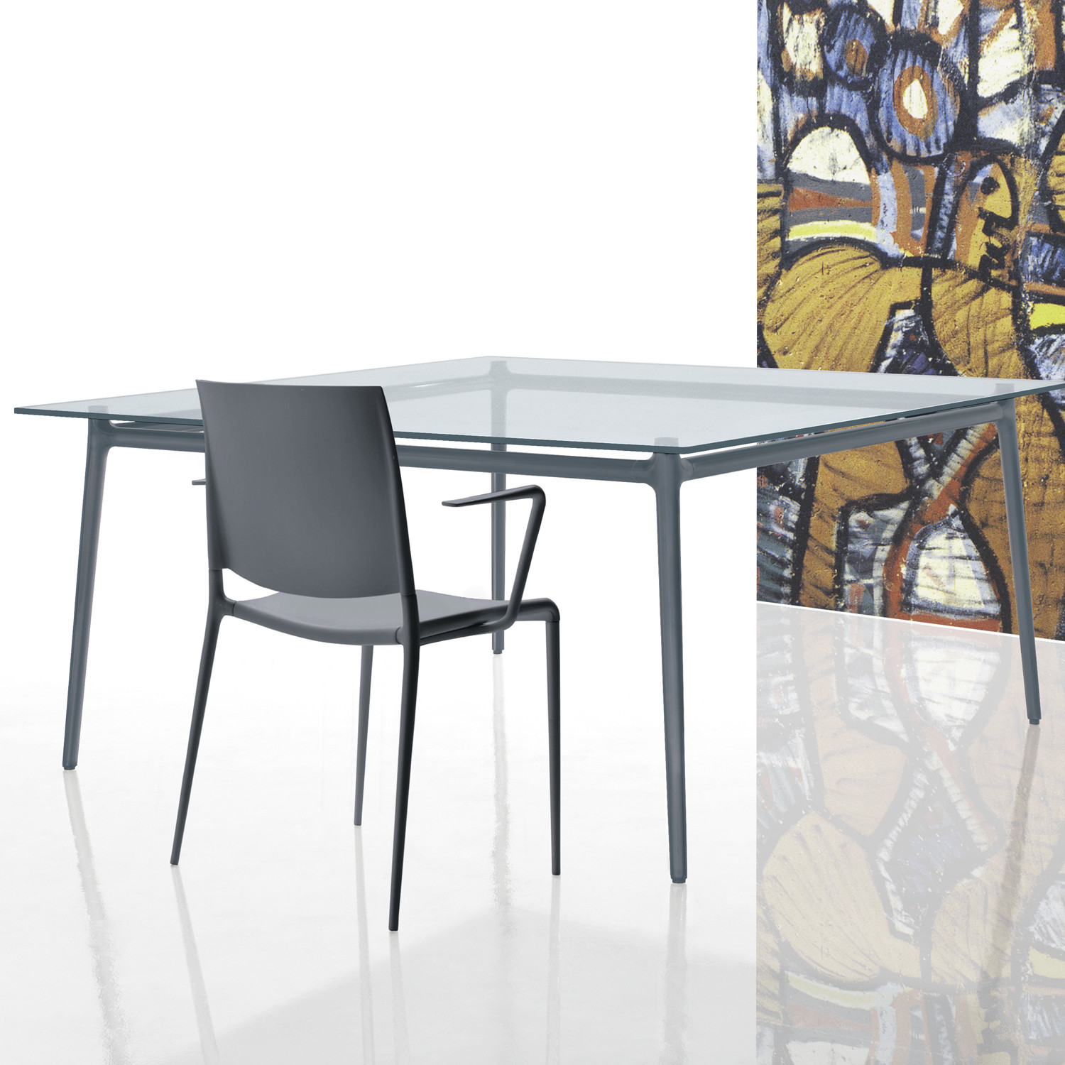 Alex Table by Rexite