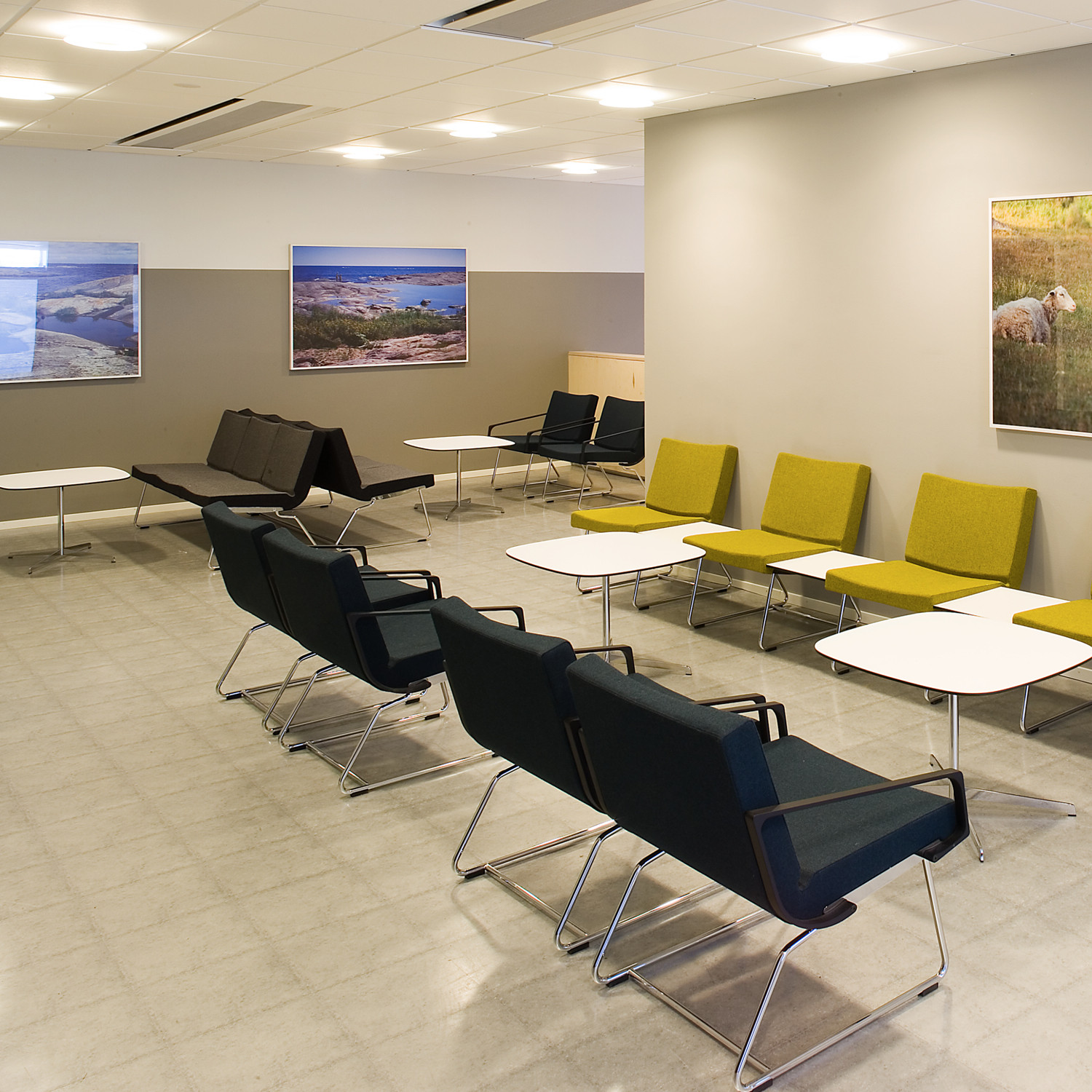 A-Line Reception Seating