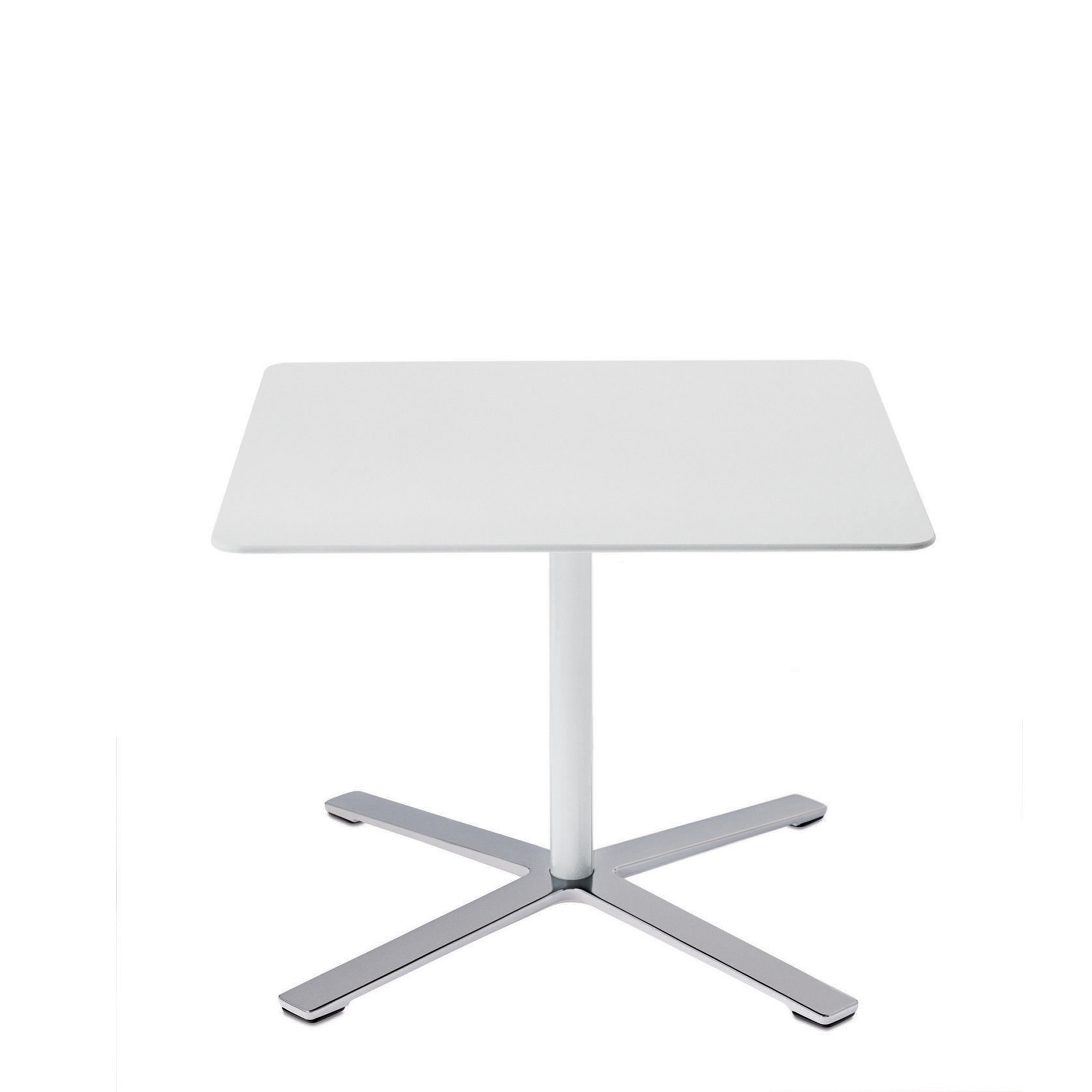 Aline Square Pedestal Table