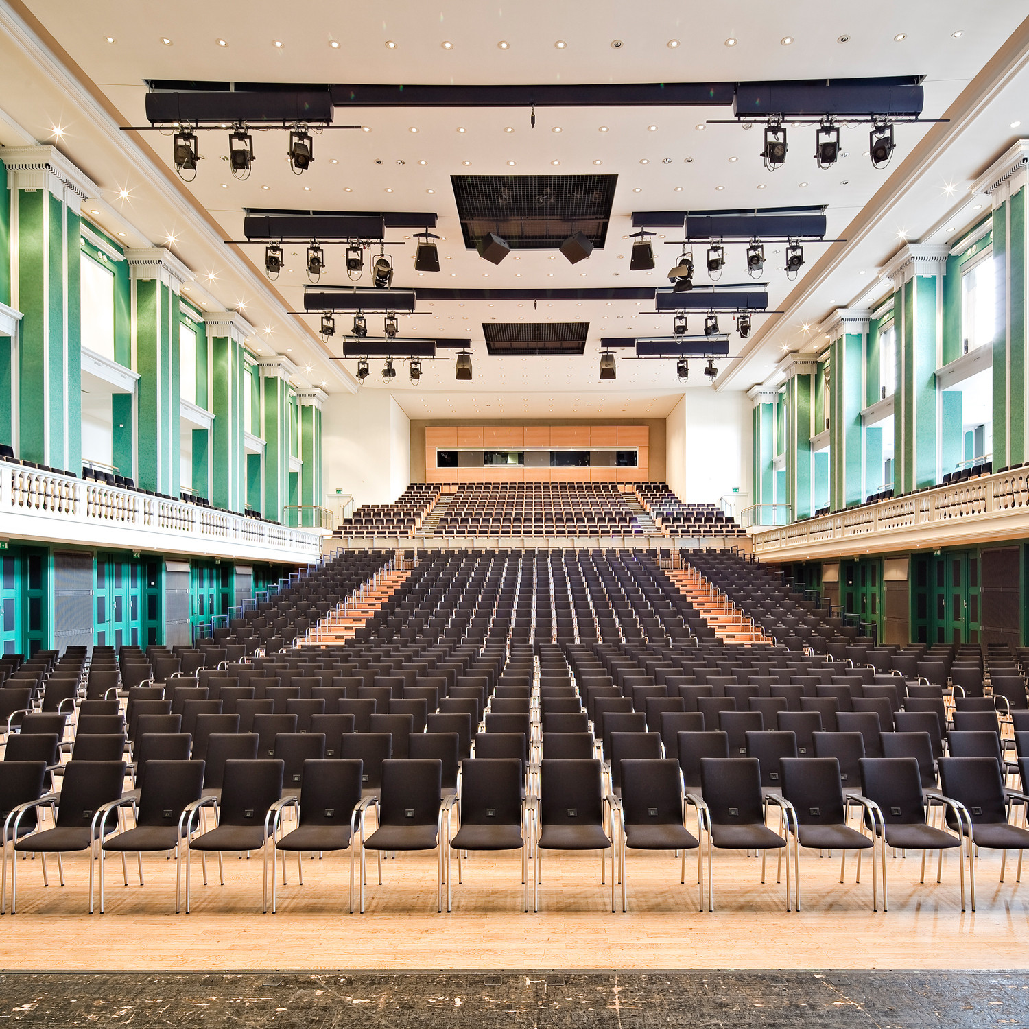 Alite Chairs in a Concert Hall