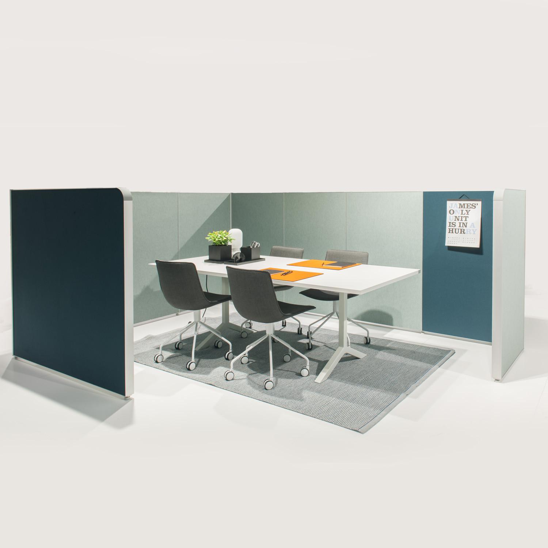 Alumi Alcove Meeting Space Configuration