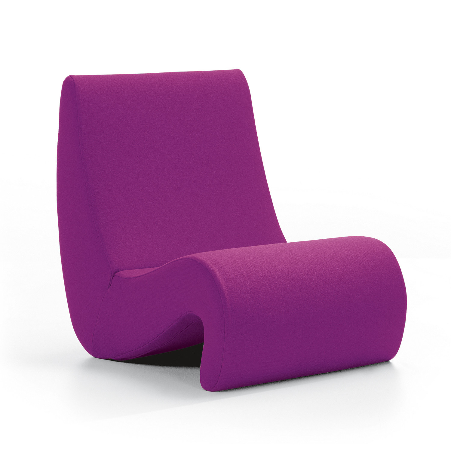 Amoebe Chair in Purple