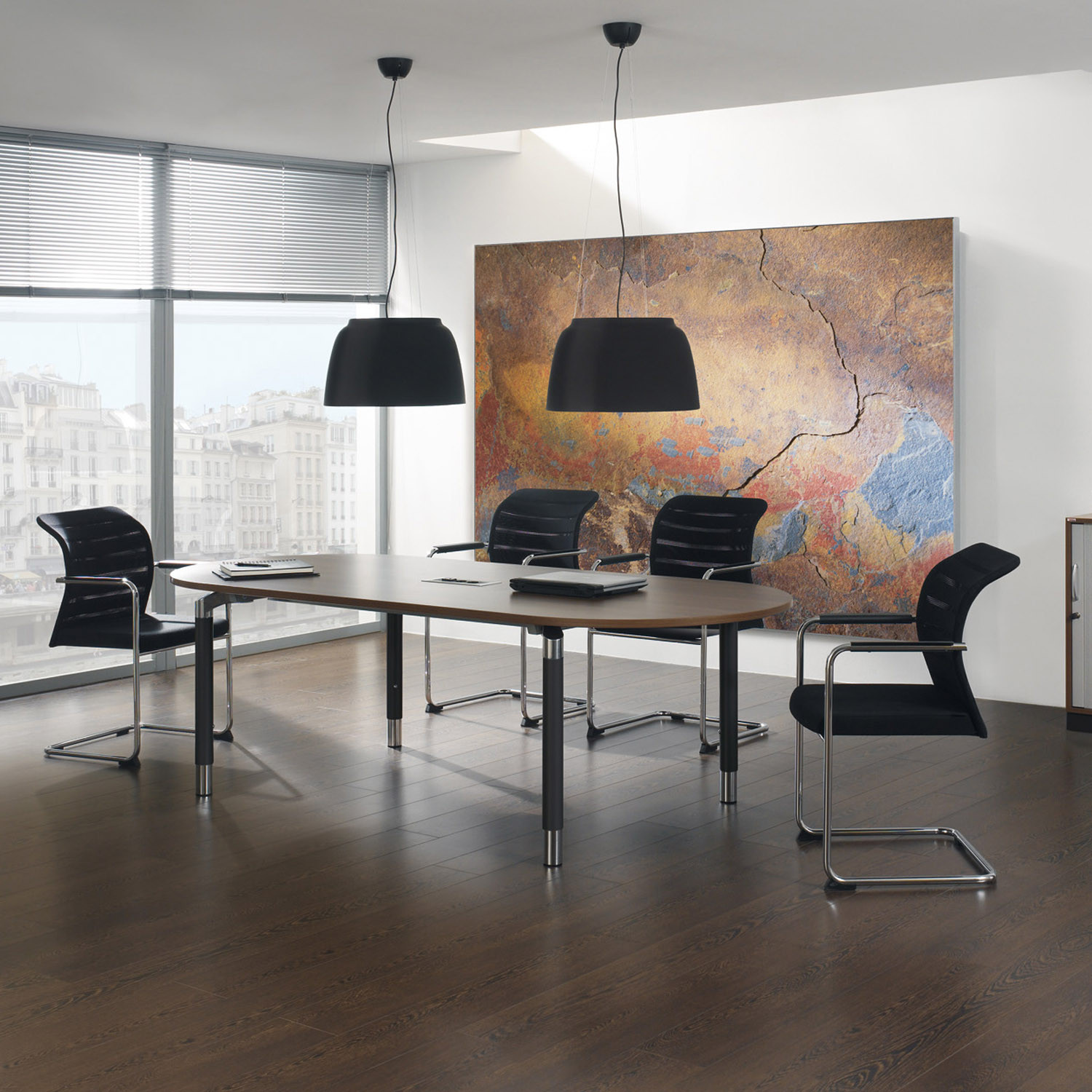 Antaro Rectangular Meeting Table