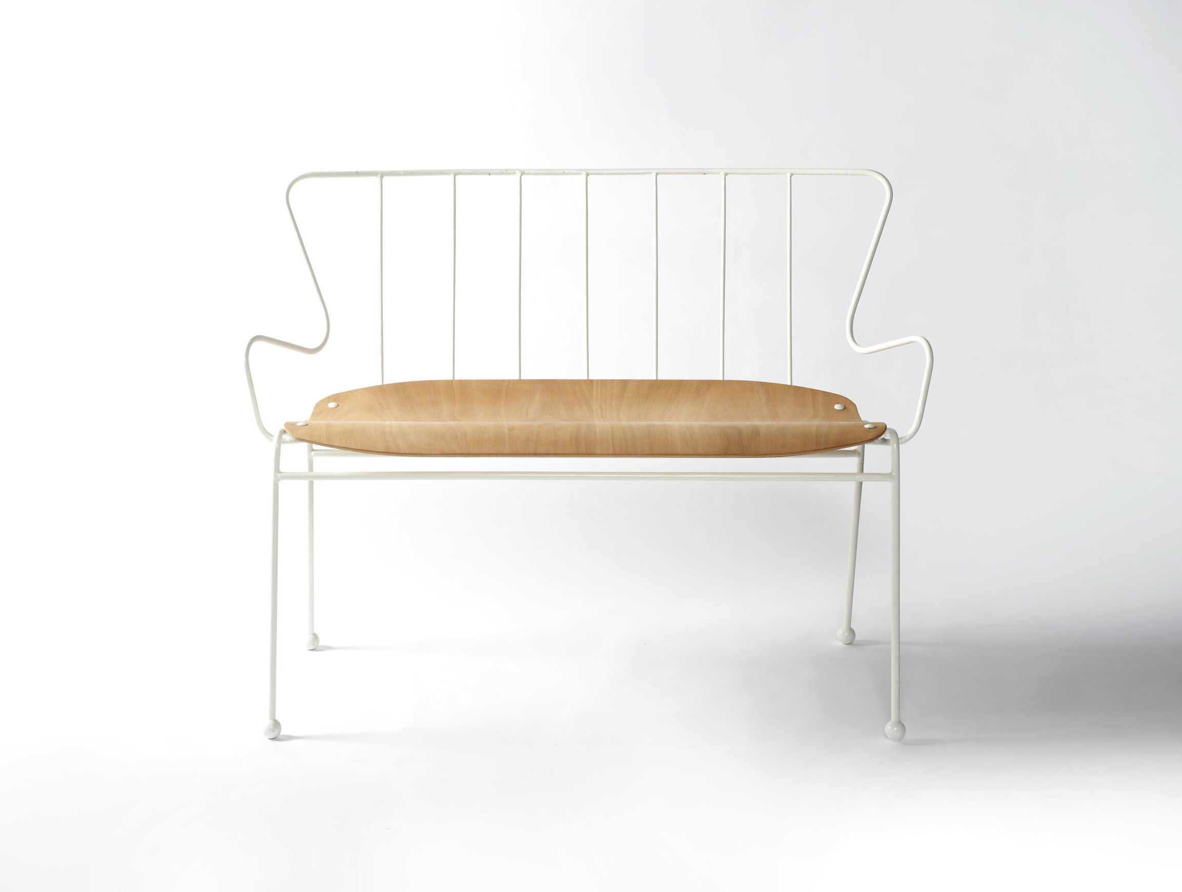 Antelope Bench by Race Furniture