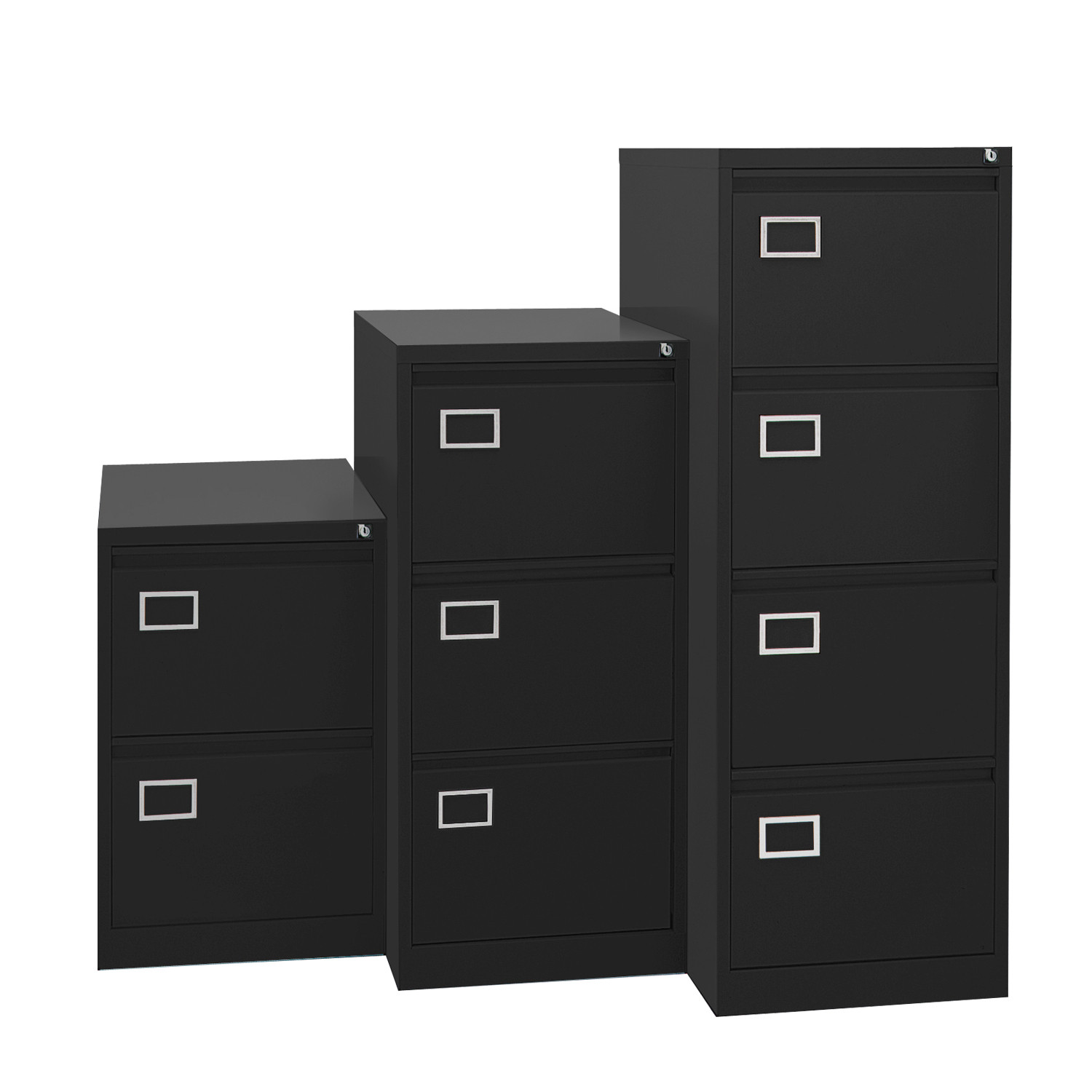 AOC Filing Cabinets in 2, 3 and 4 Drawer Height