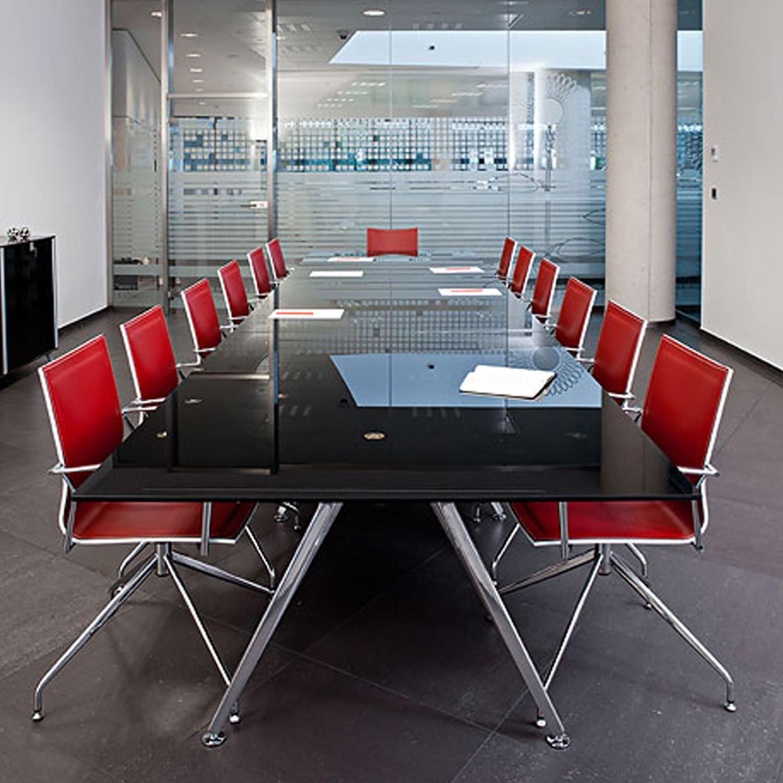 Arkitek Black Painted Boardroom Table