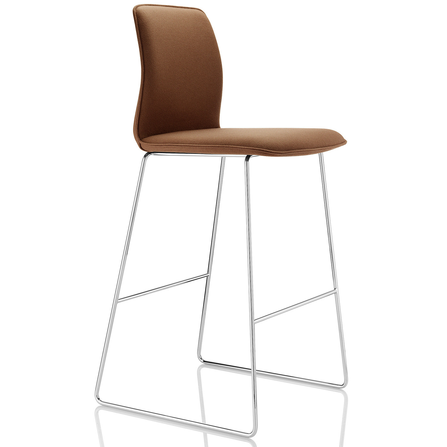 Arran Stool with sled base by Boss Design