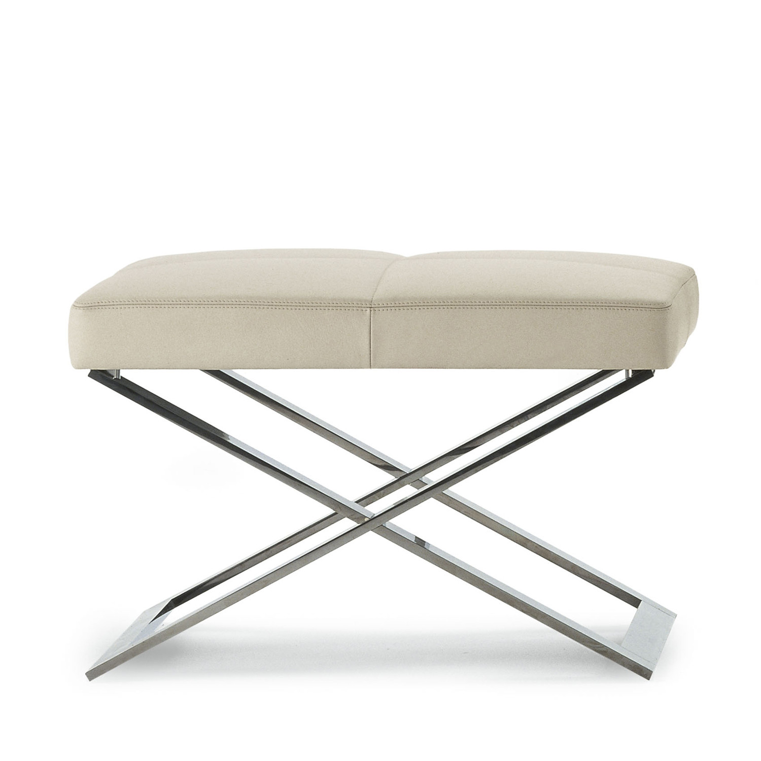 Aster X Pouf Footstool from Poltrona Frau