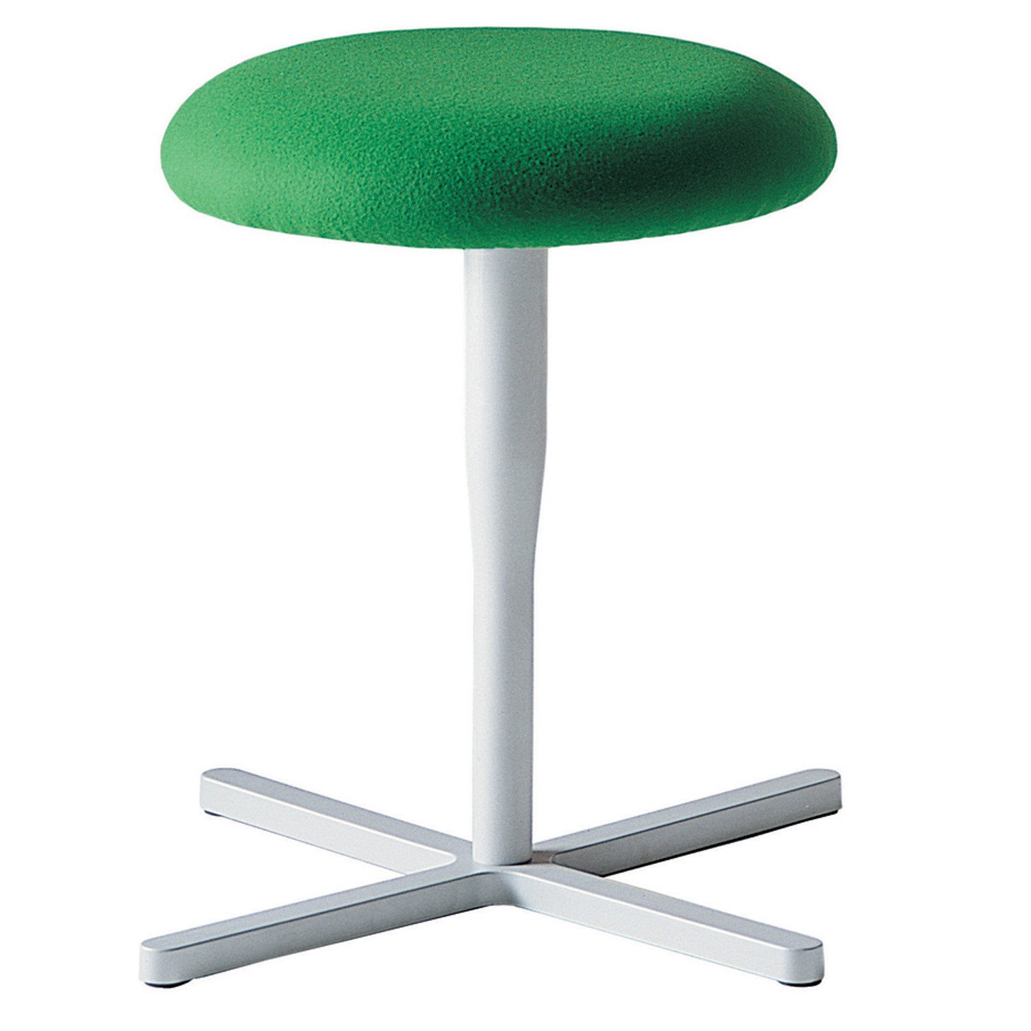 Atlas Stool 751 - cross base on glides