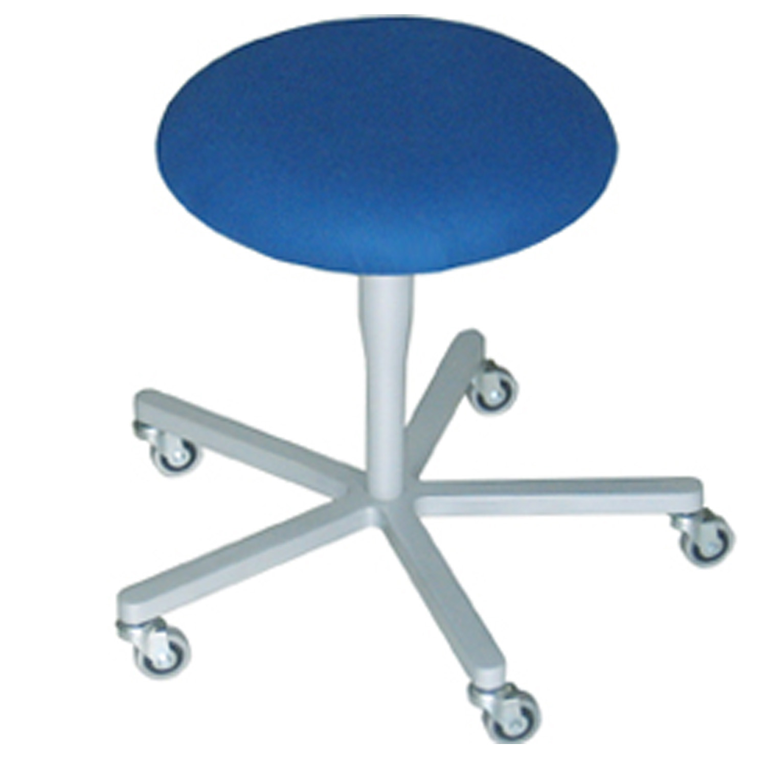 Atlas Stool 752 - cross base on castors