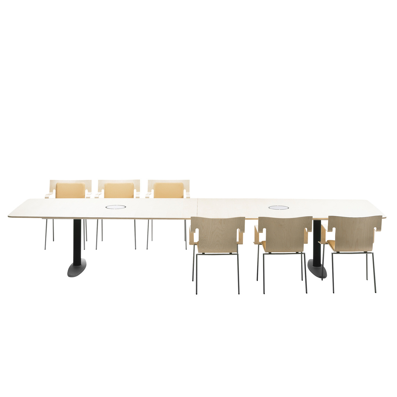 Atlas rectangular conference table
