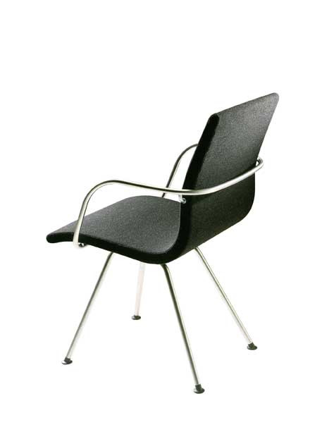 Atlas Chair 4-Legged Rear