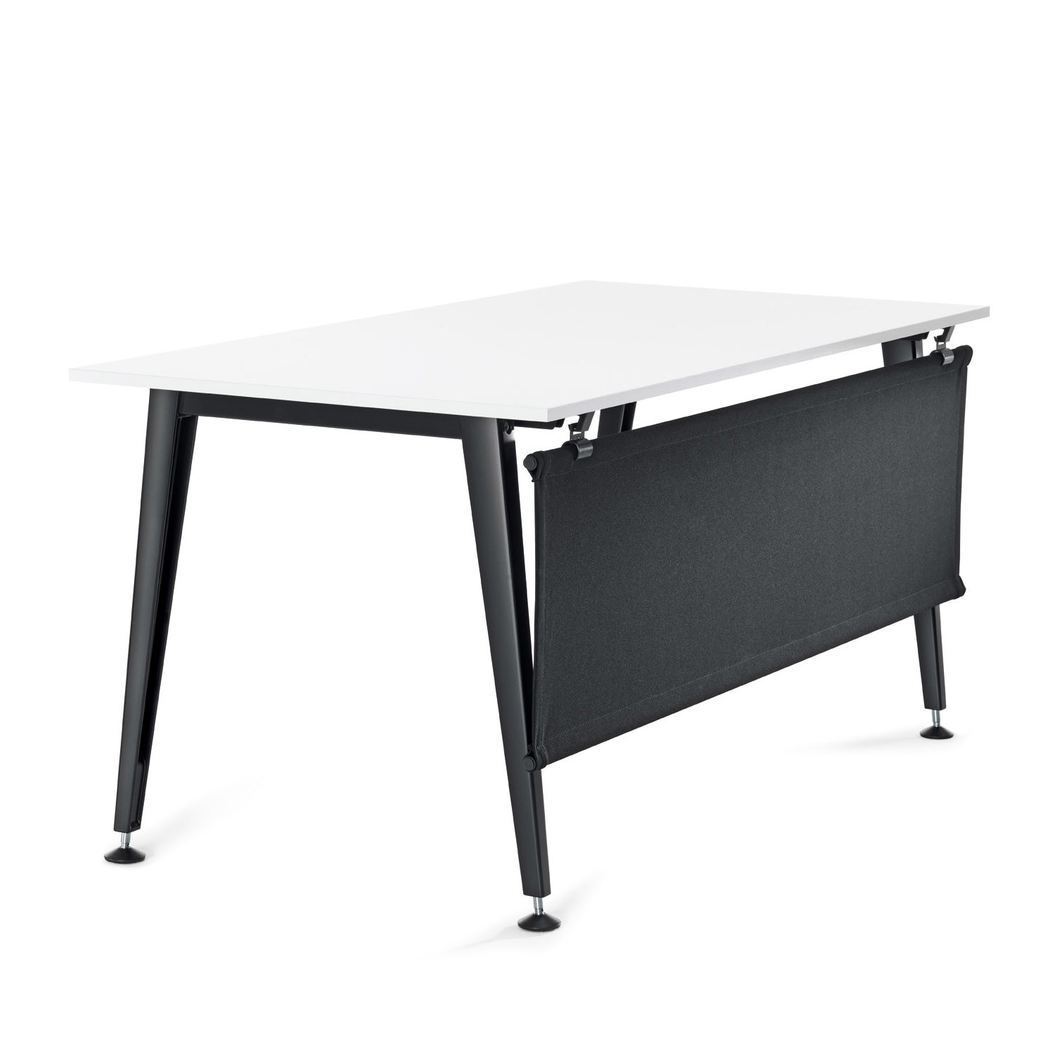 Attention A Office Desk with Modesty Panel