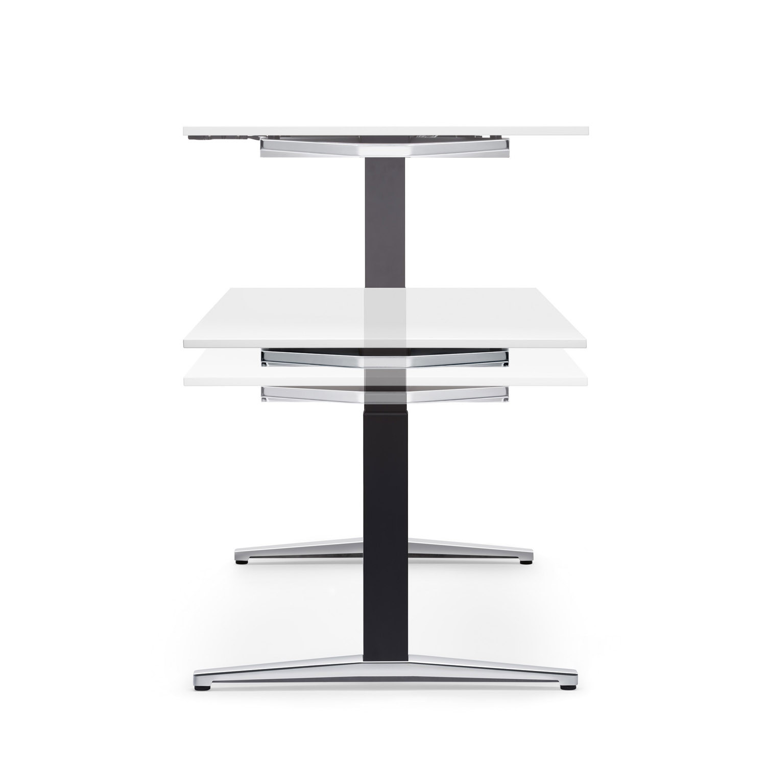 Attention T Adjustable Height Desks