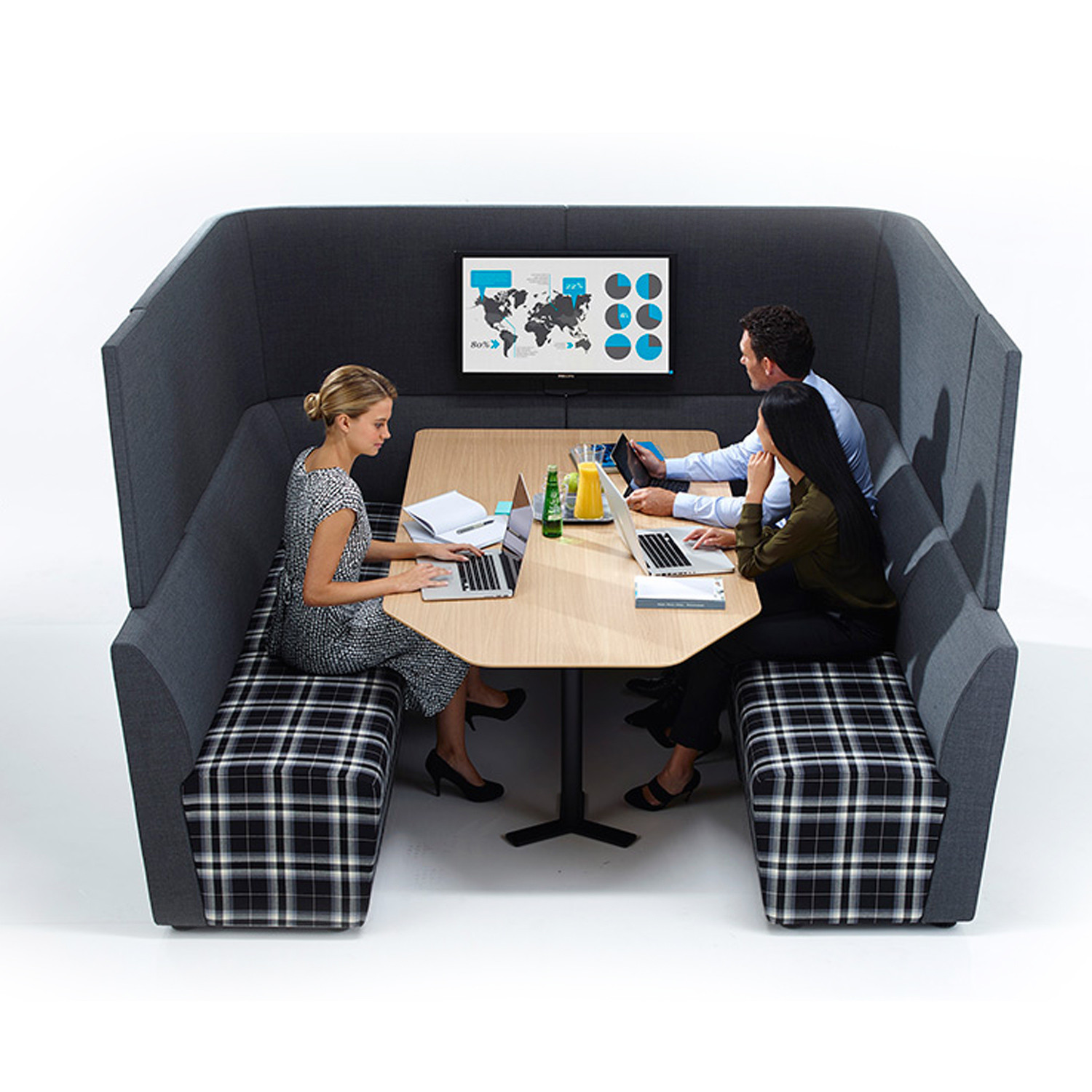 Away From The Desk Workbay Meeting Unit