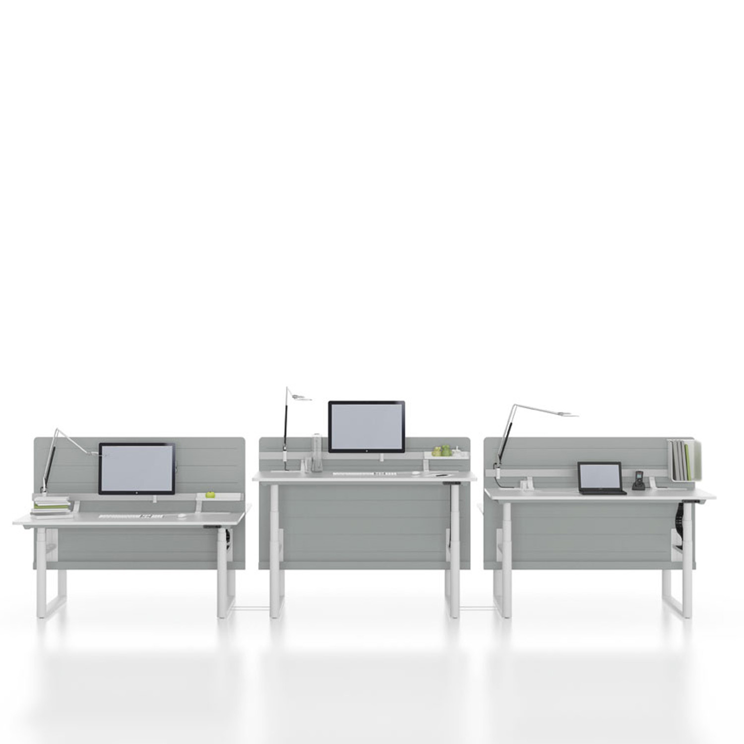 Vitra Tyde Adjustable Workstations