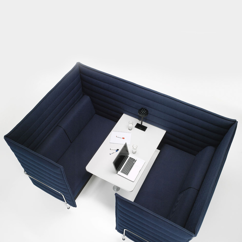 vitra alcove cabin sofa highback privacy sofa apres furniture. Black Bedroom Furniture Sets. Home Design Ideas