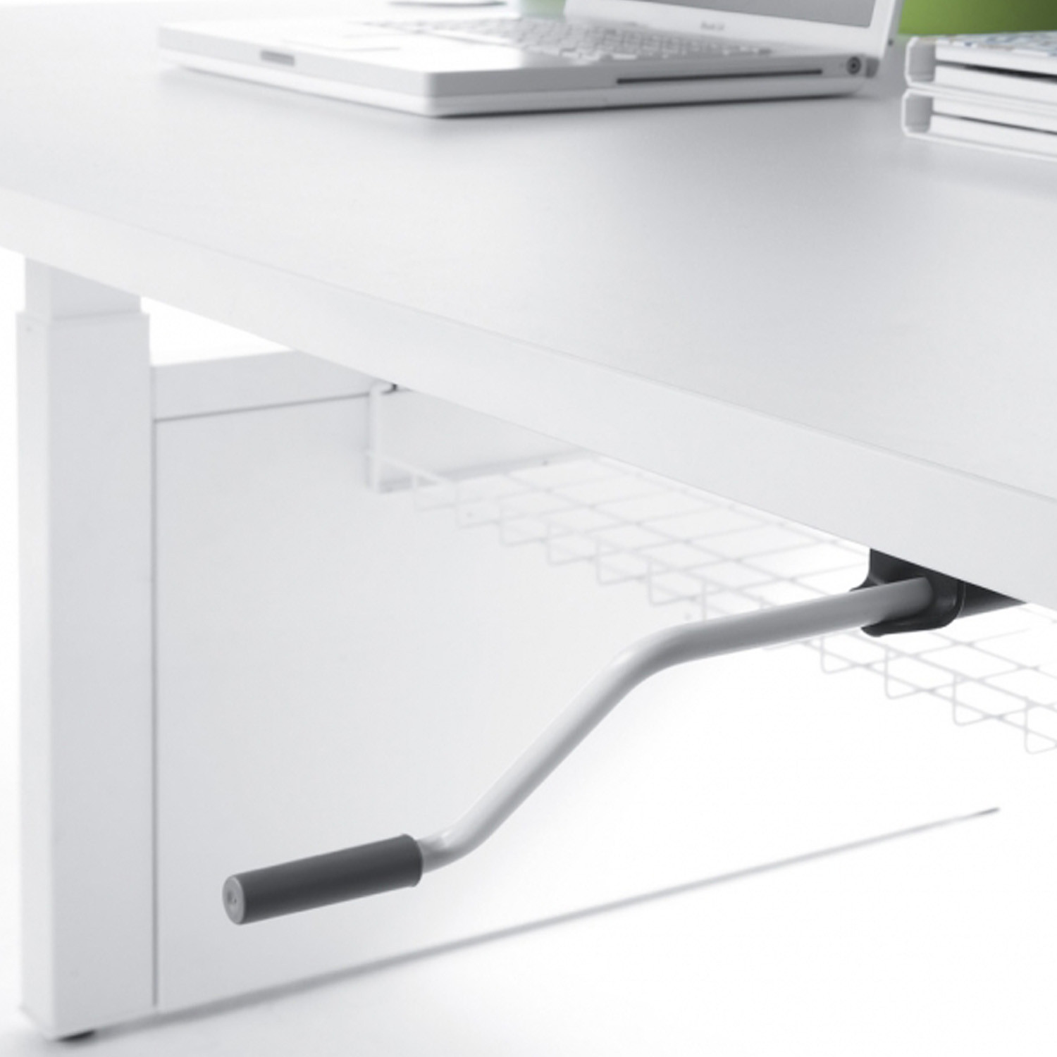Balance Crank Handle Adjustable Desk