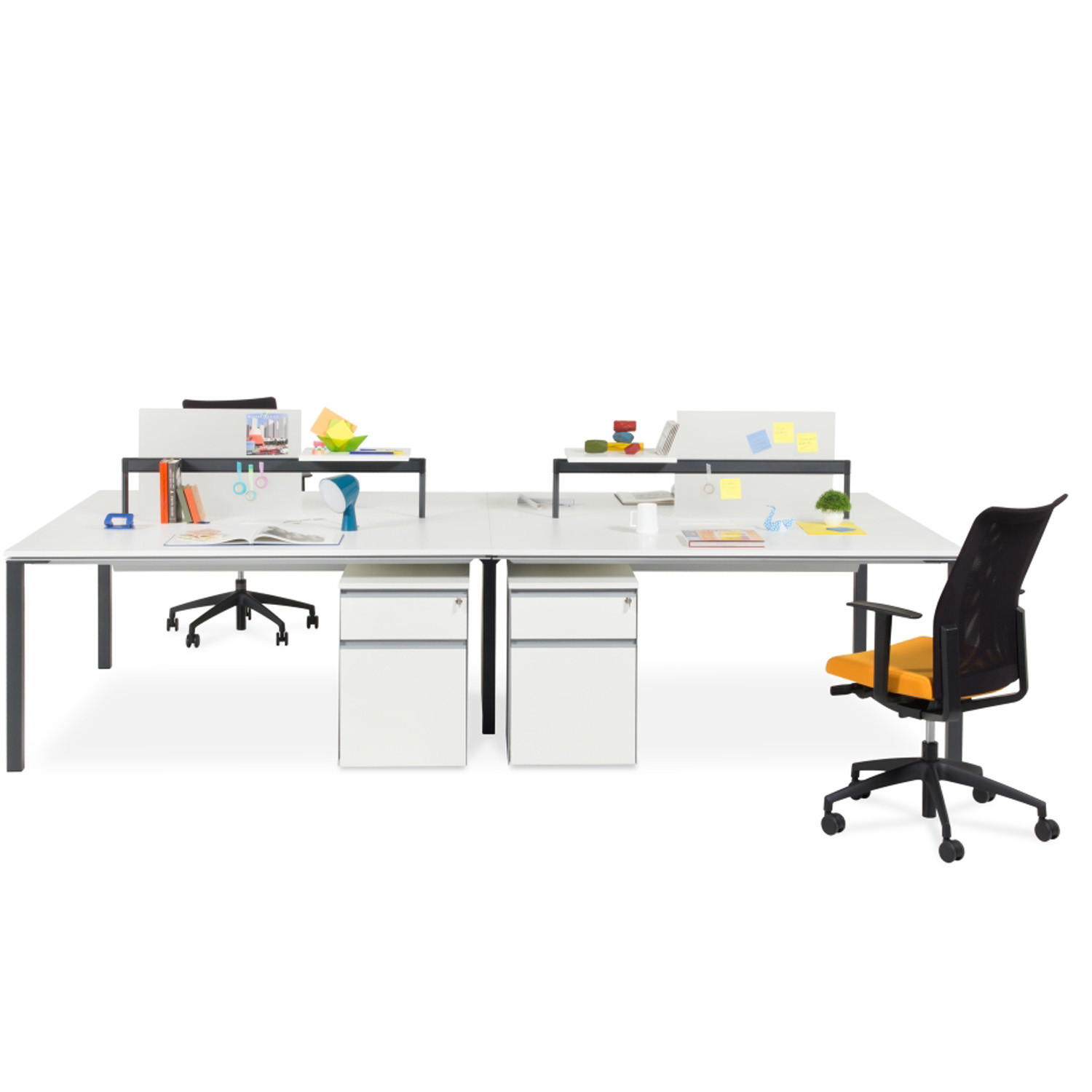 Barbari Double Bench Desks