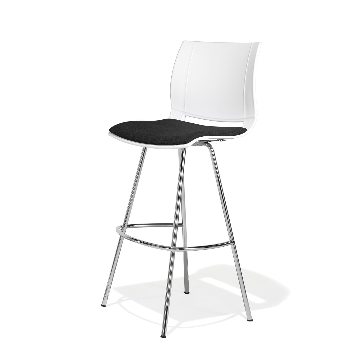 2000 Uni_Verso Barstool with padded seat