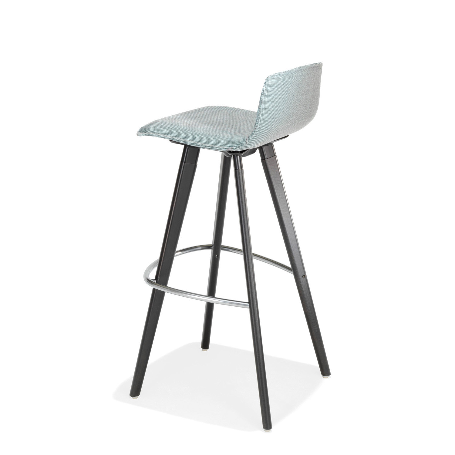 2180 Uni_Verso Barstool with low backrest