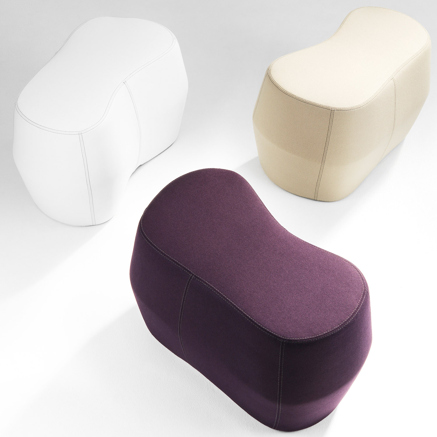 Rock'd Sitting Poufs