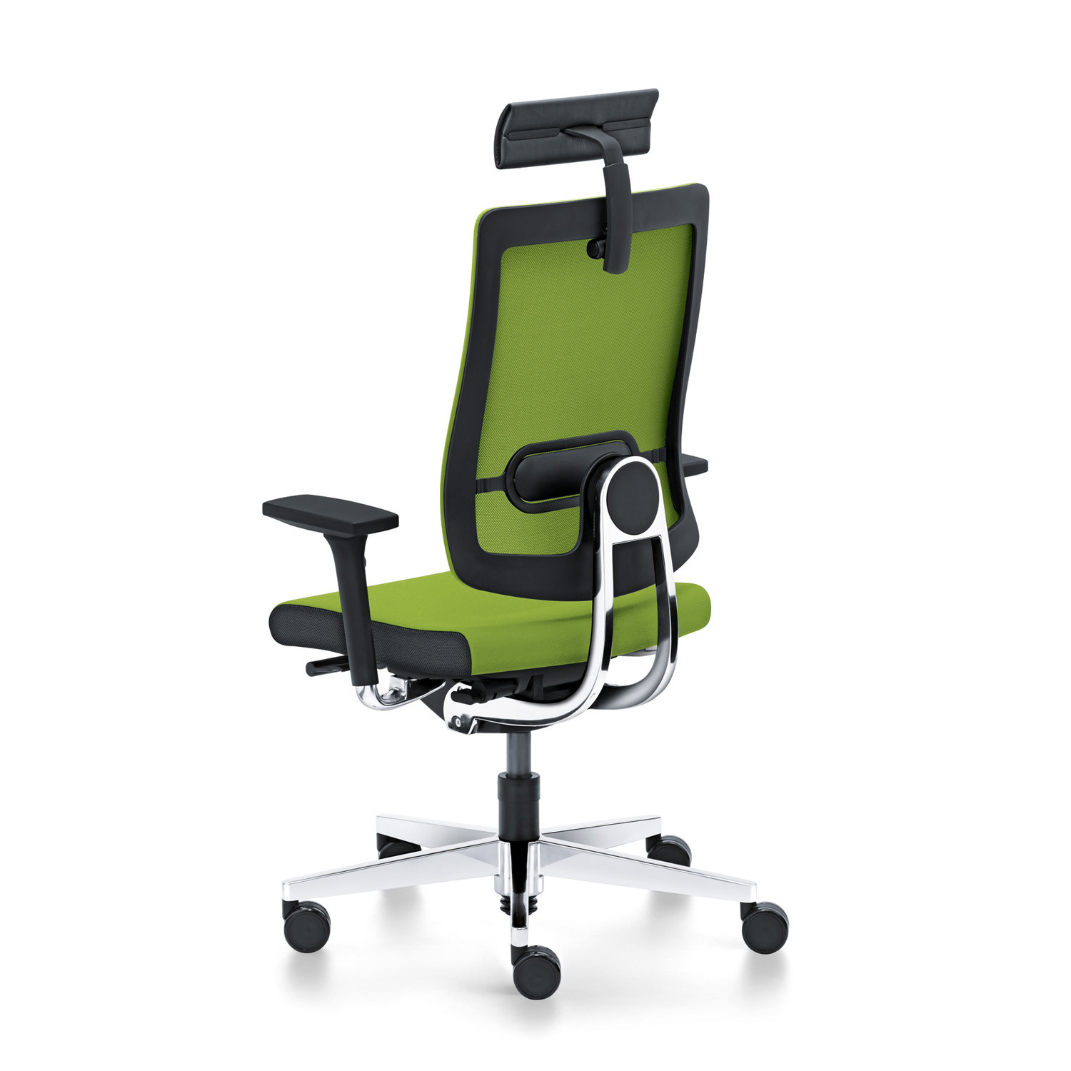Black Dot Net Executive Chair with headrest