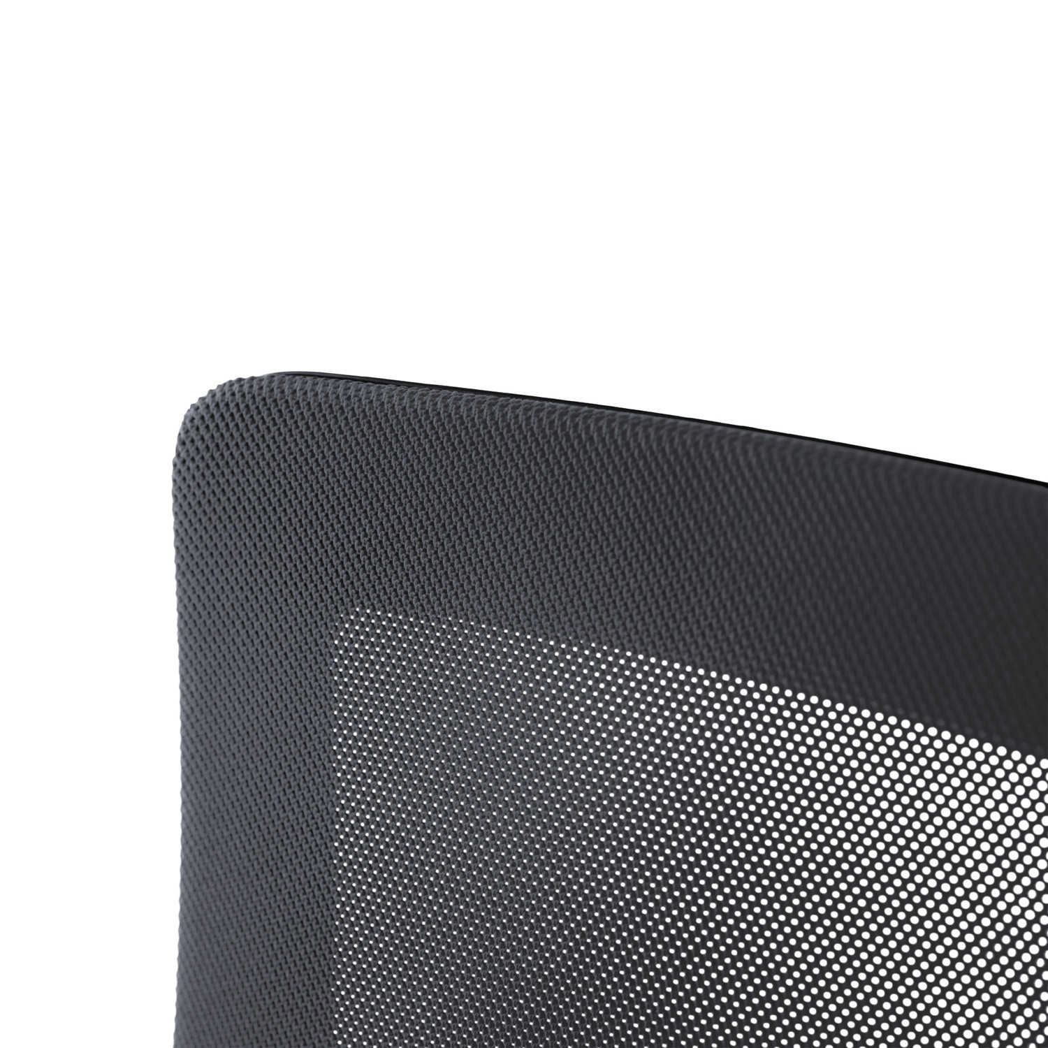Black Dot Net Executive Chair mesh backrest detail