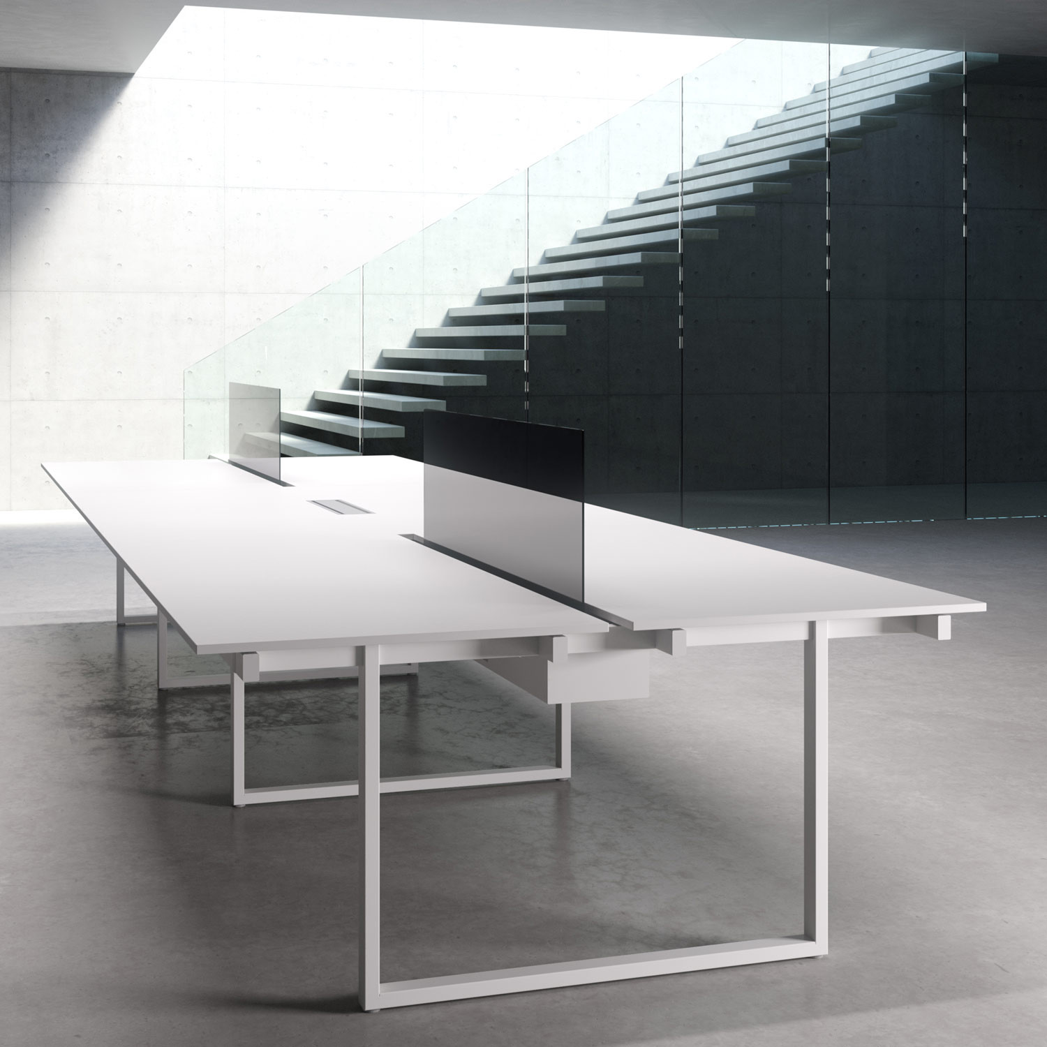 Be.1 Office Bench Desking