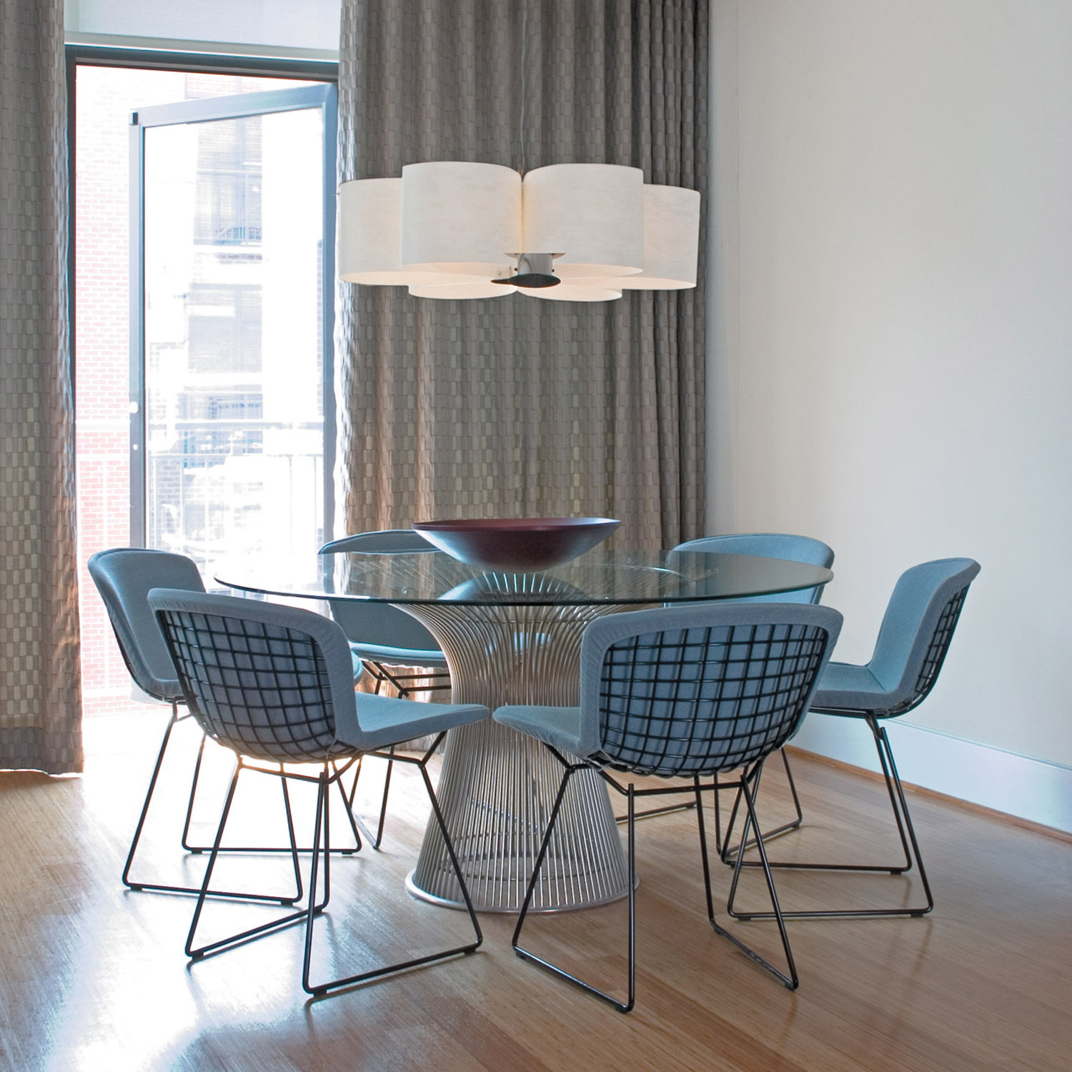 Bertoia Cafe Side Chairs by Knoll