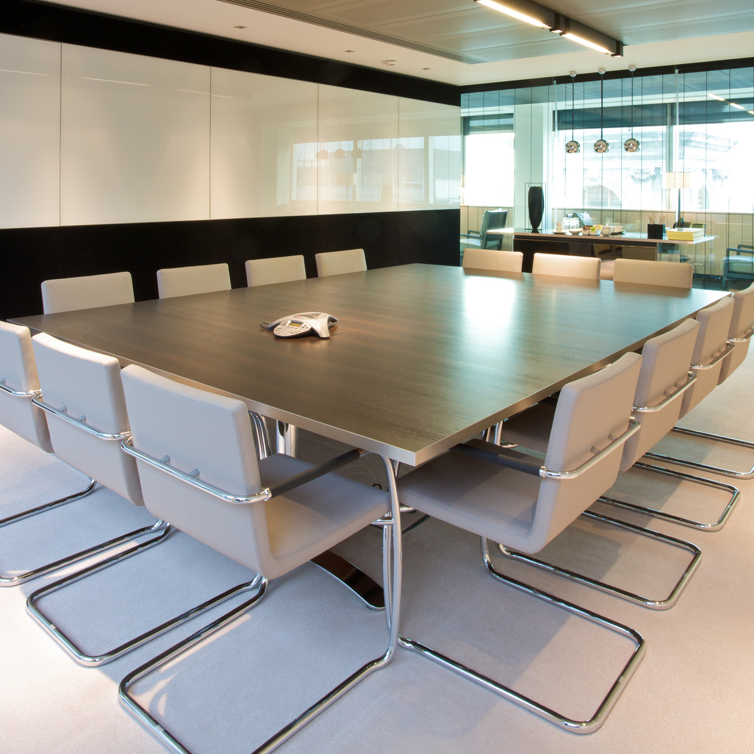 Custom Made Rectangular Meeting Table