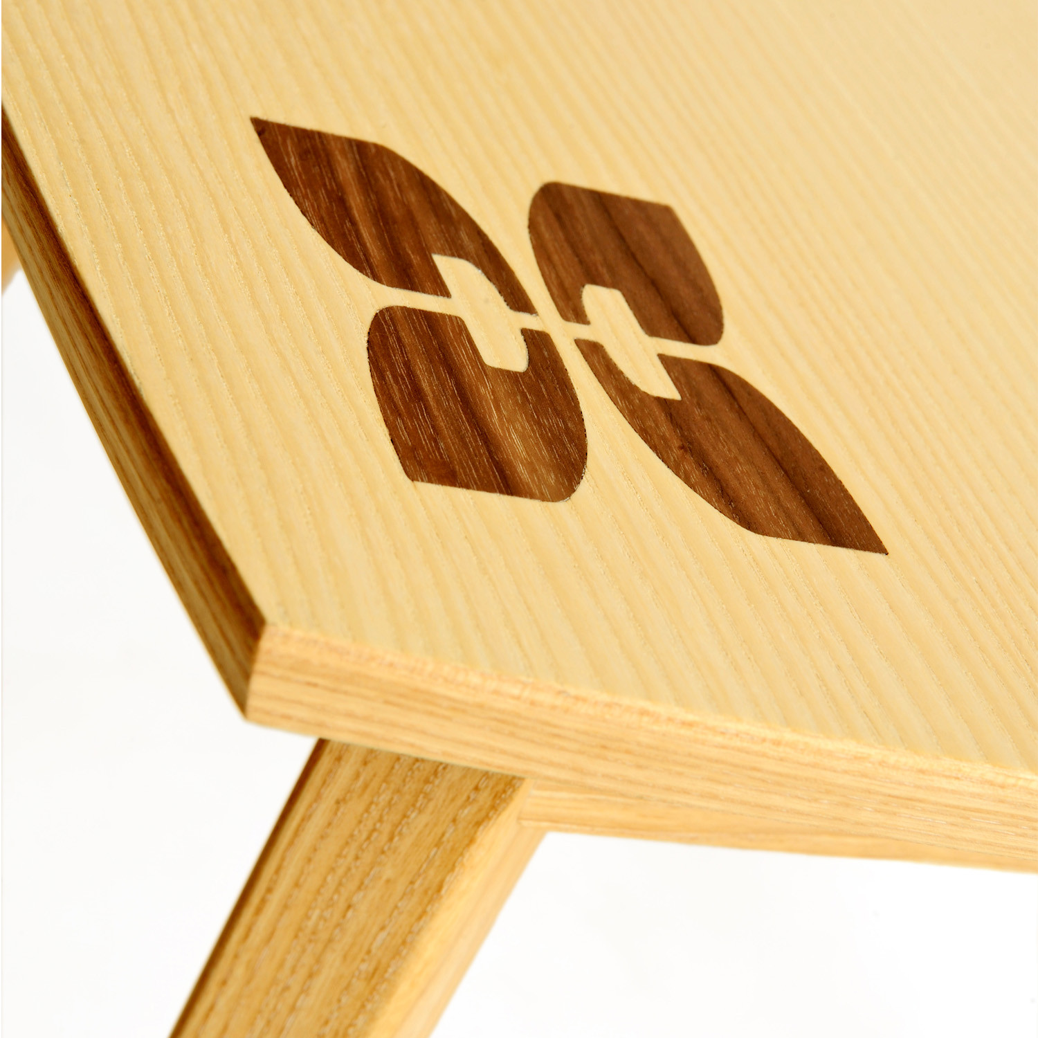 Beacon Side Table inlay detail view