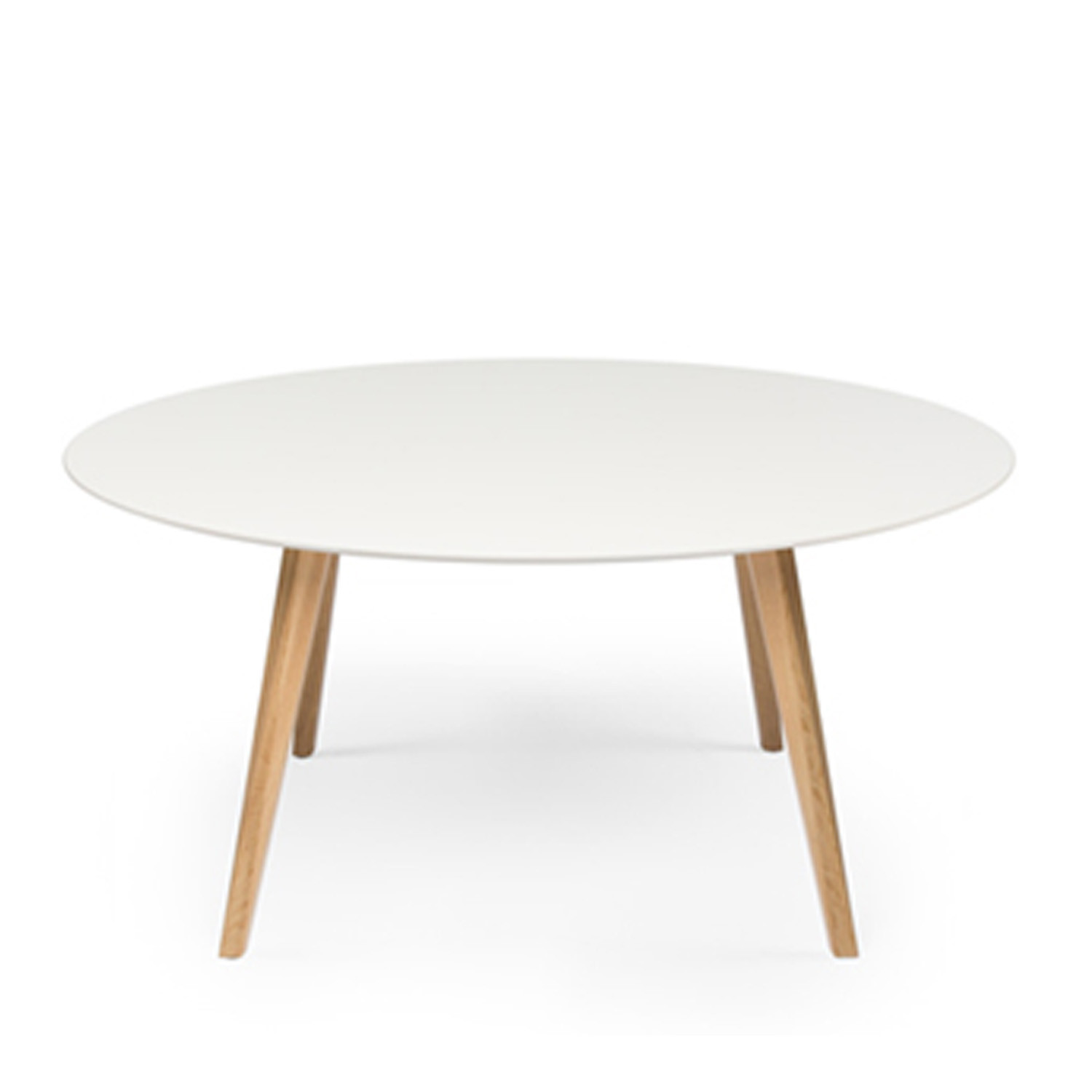 Bevel Round Office Table