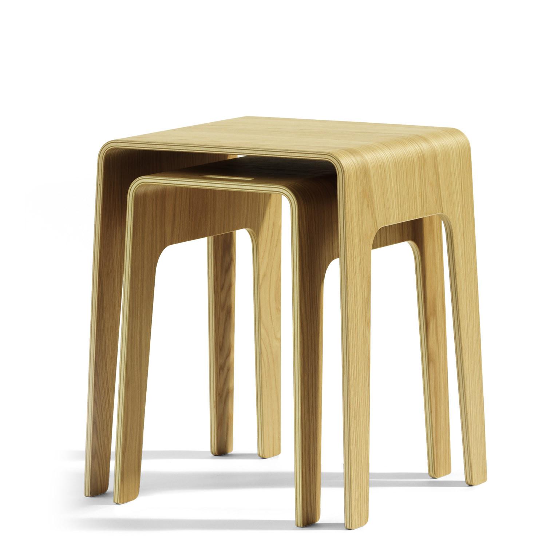 Bimbord Wooden Coffee Nesting Table