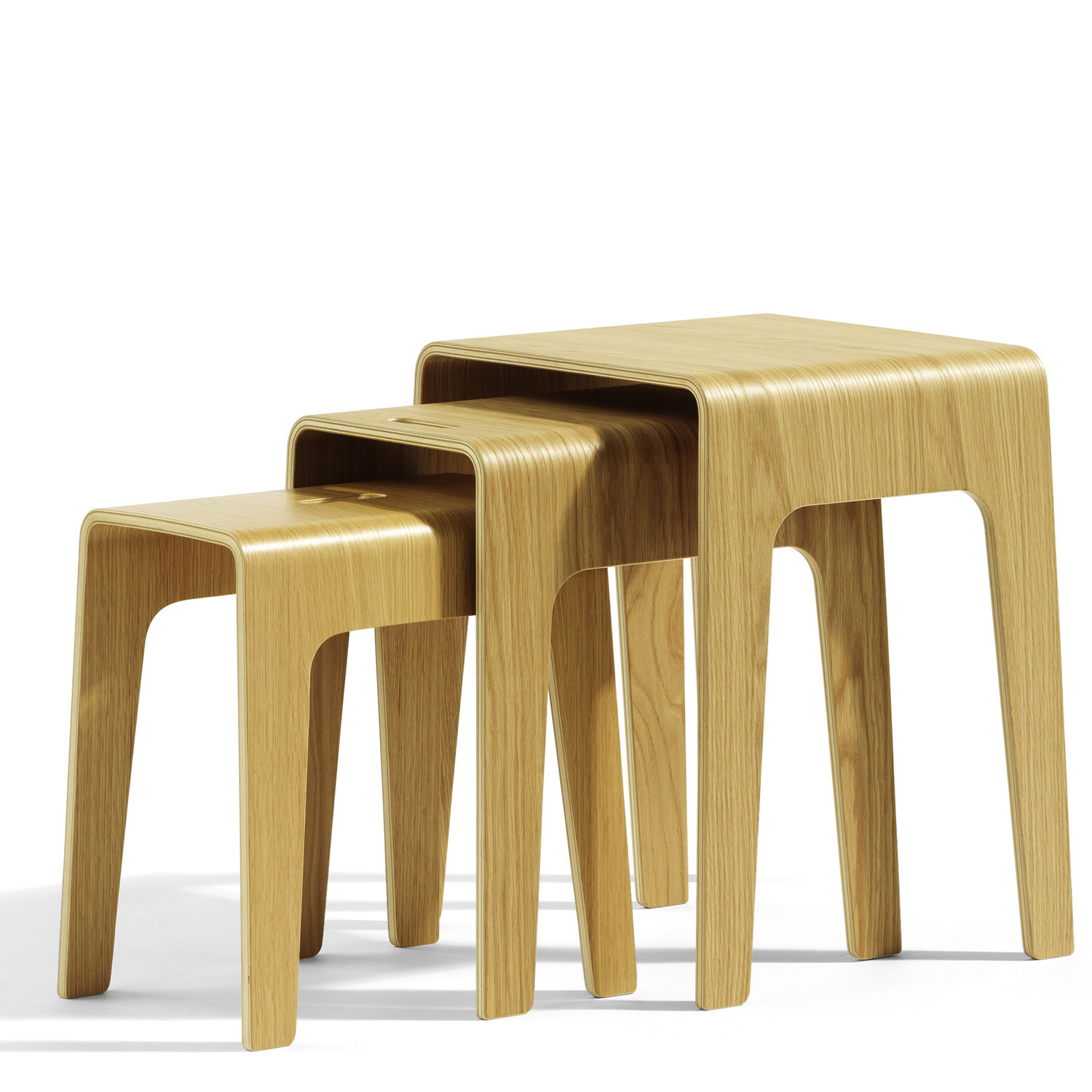 Bimbed Stacking Stools for Breakout Zones
