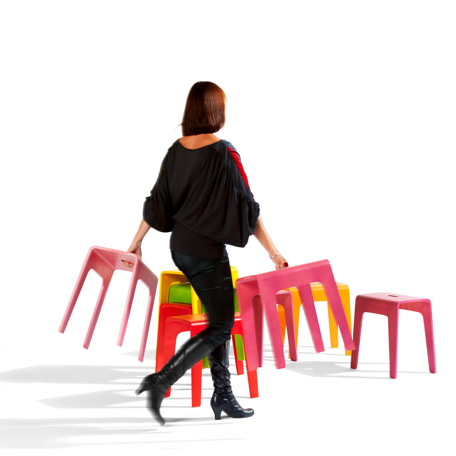 Bimbo Low Stools by Peter Brandt