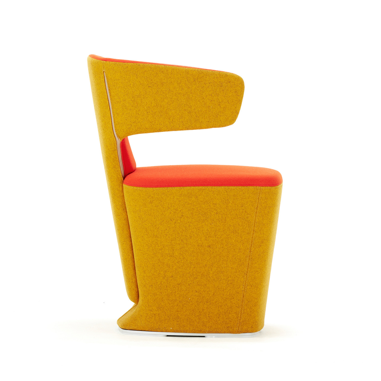 Bison Tub Chair Side Profile