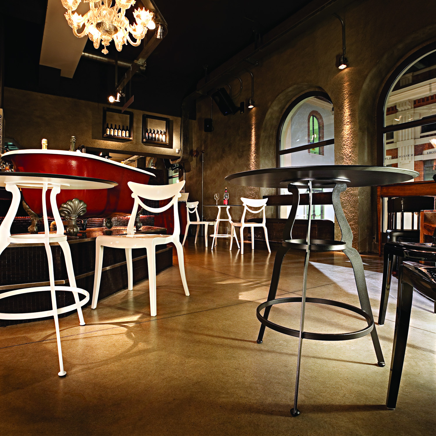 Bistro Indoor Cafe Tables