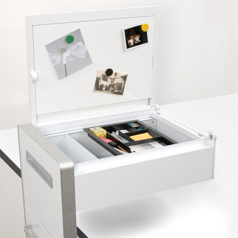Bite Mobile Pedestal with White Board