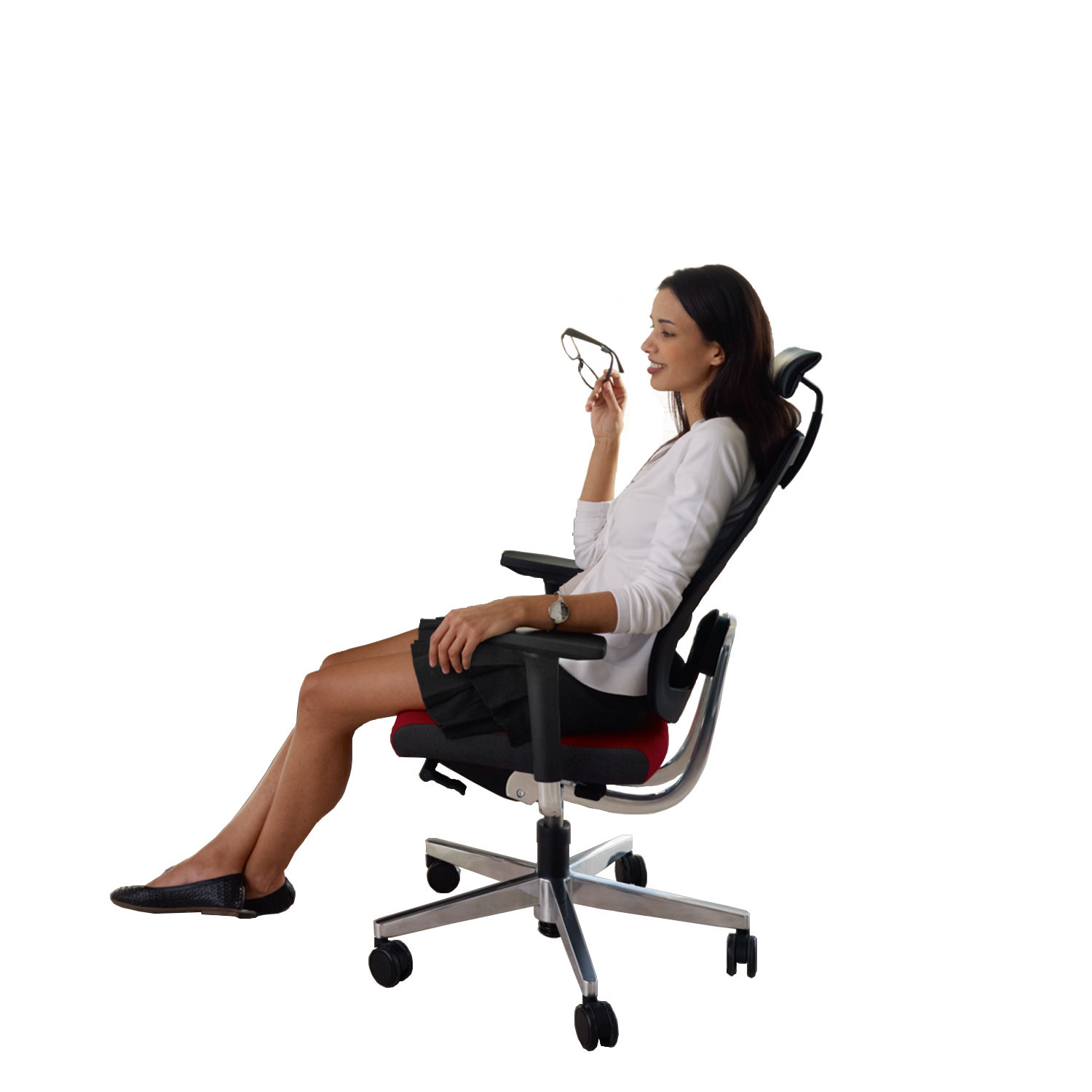 Black Dot Net Executive Chair