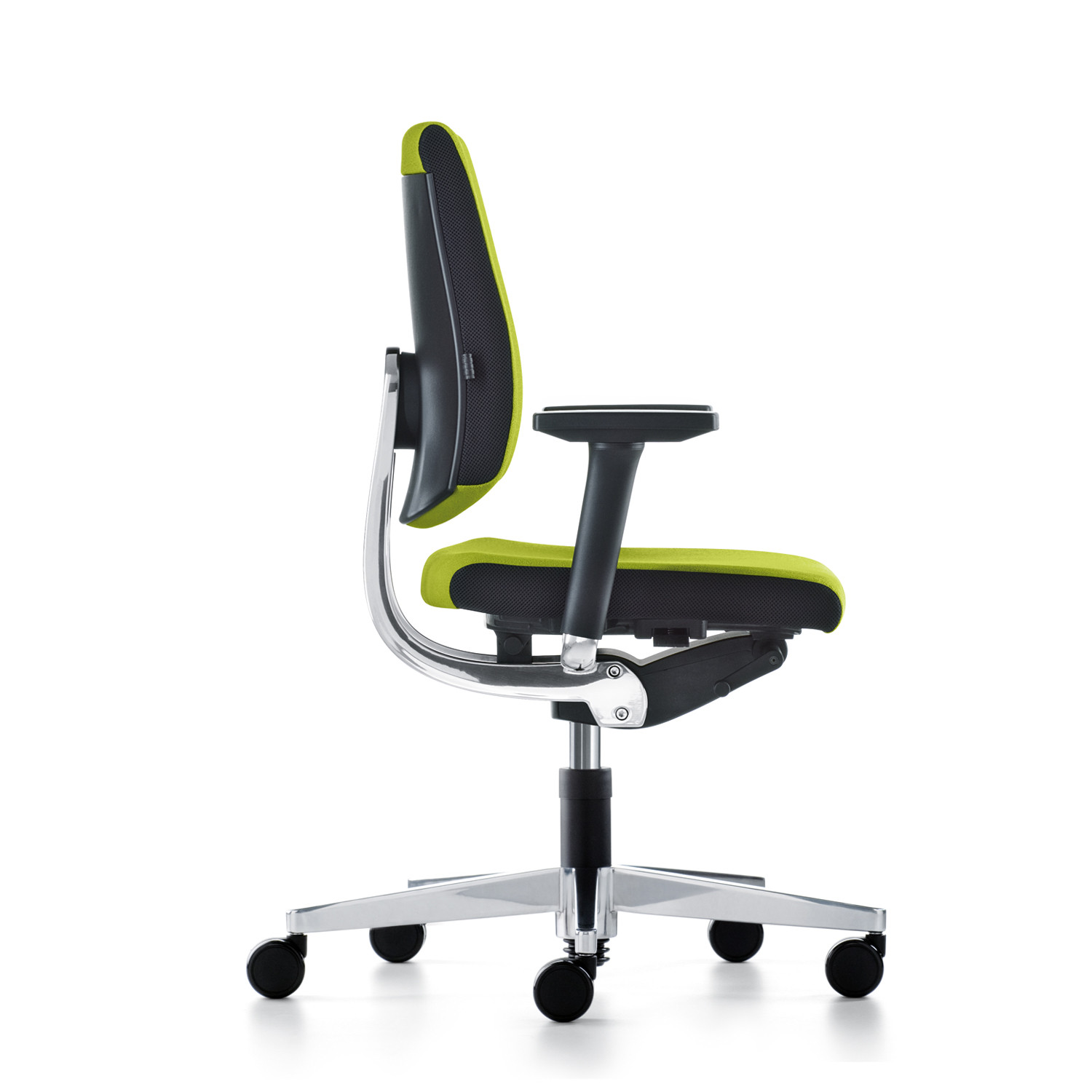 Black Dot Swivel Office Chair