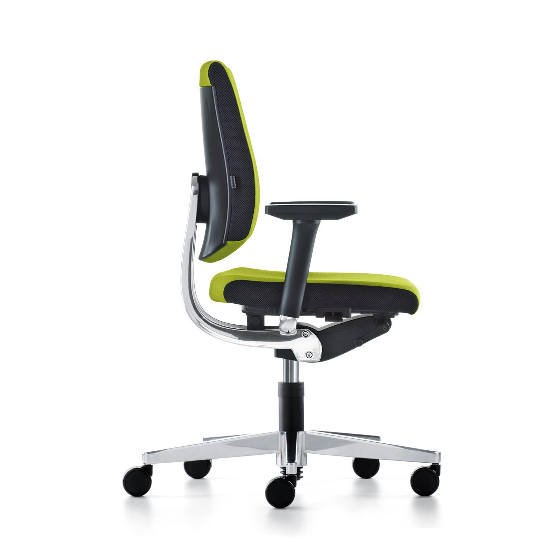 Black Dot Swivel Office Chair