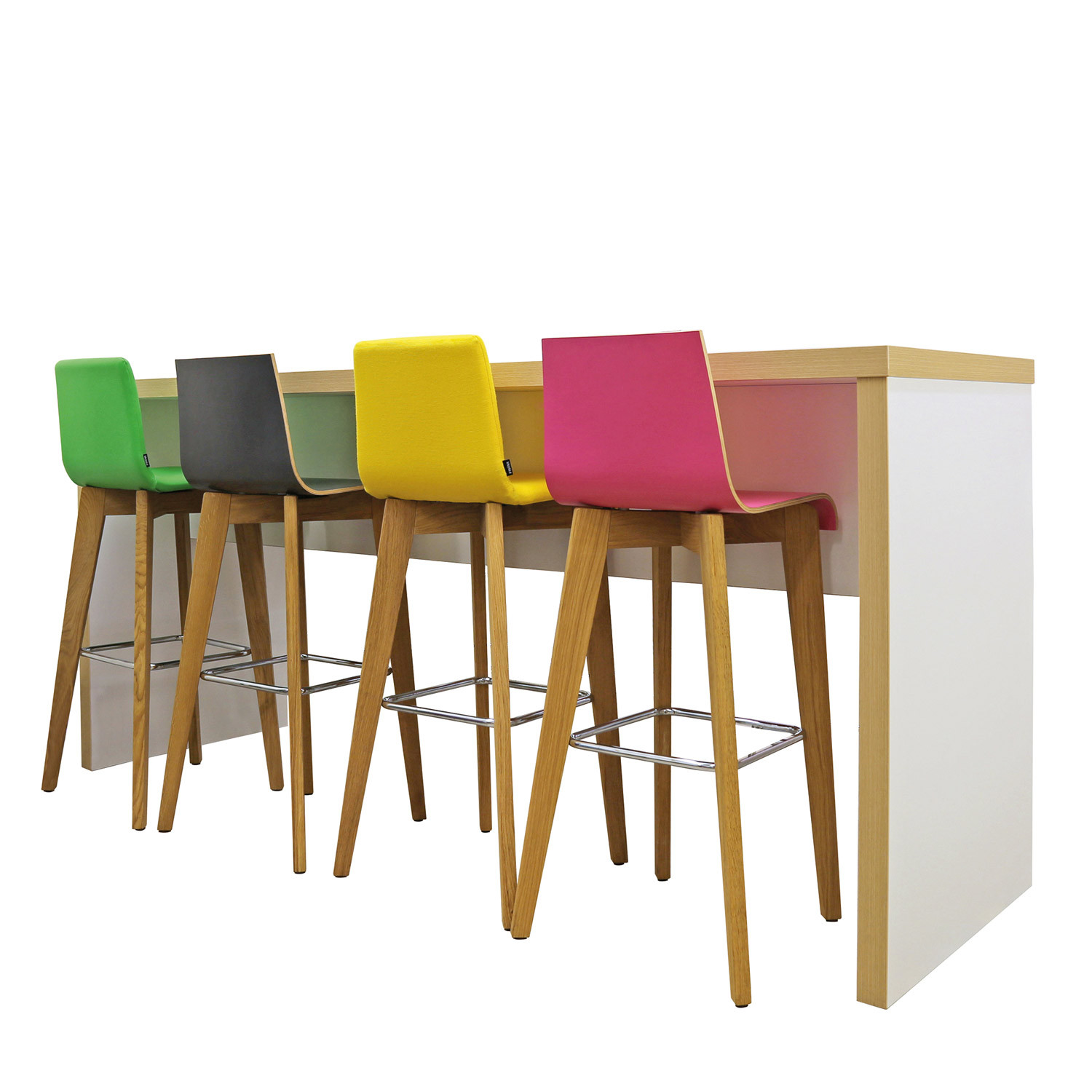 Block Colour Poseur Table