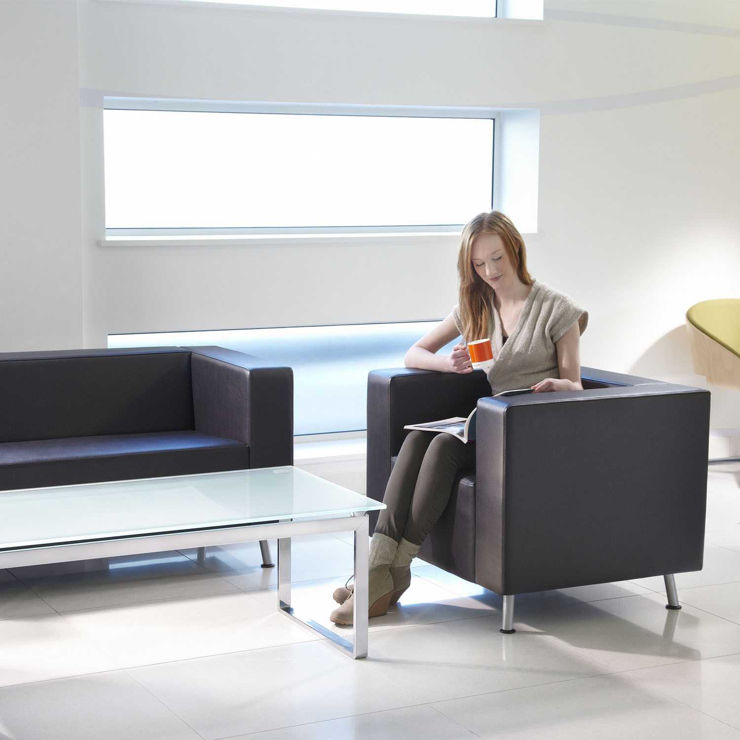Blok Reception Soft Seating by Connection