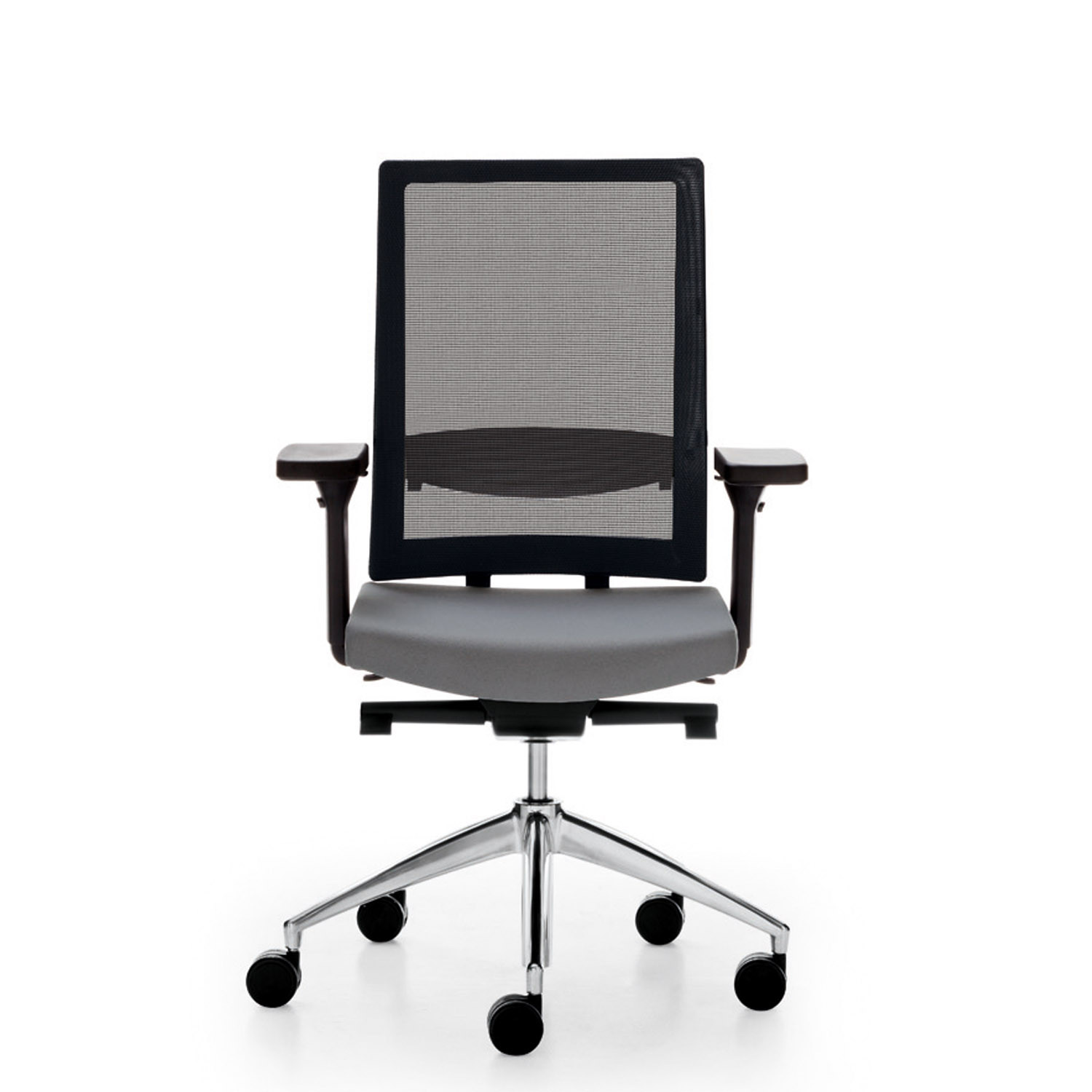 Blue Office Chair with Lumbar Support