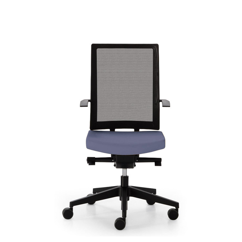 Blue Mesh Back Office Chair